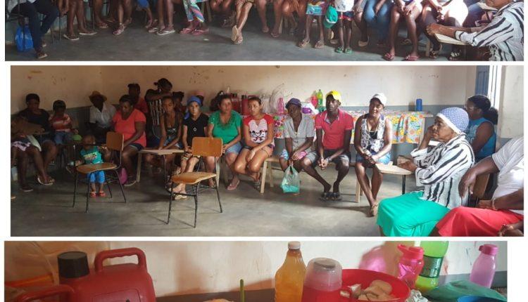 CRAS Rural realiza reunião do Grupo de Mulheres na comunidade quilombola de Malhada