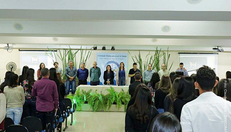 Secretaria Municipal de Saúde promove I Jornada Multiprofissional de Saúde