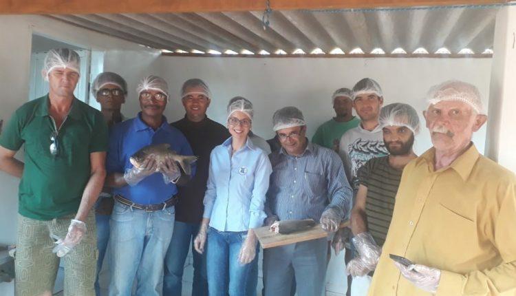 Prefeitura de Caetité realiza curso de piscicultura na comunidade de Juazeiro