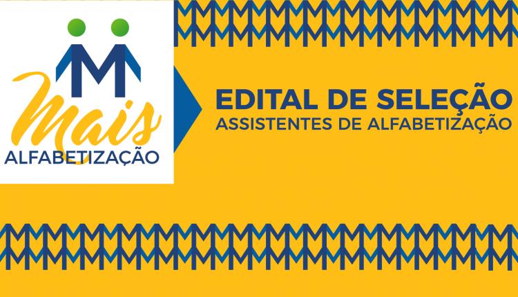 Prefeitura divulga resultado de seleção de Assistentes de Alfabetização para atuarem no Programa Mais Alfabetização