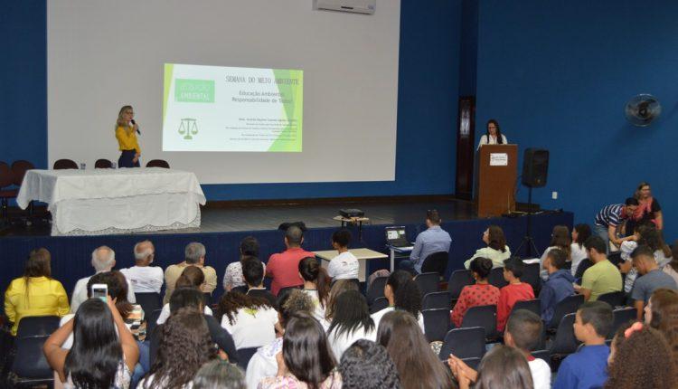 Governo Participativo realizou evento em comemoração ao Dia Mundial do Meio Ambiente