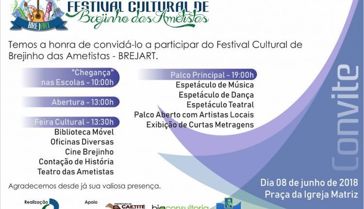 Festival Cultural BREJART já tem nova data