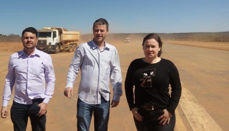Governo do Estado e Prefeitura realizam obras no aeródromo do município de Caetité
