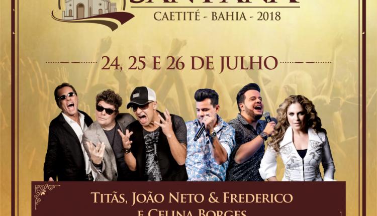 Confira a programação da Festa de Sant'Ana 2018!