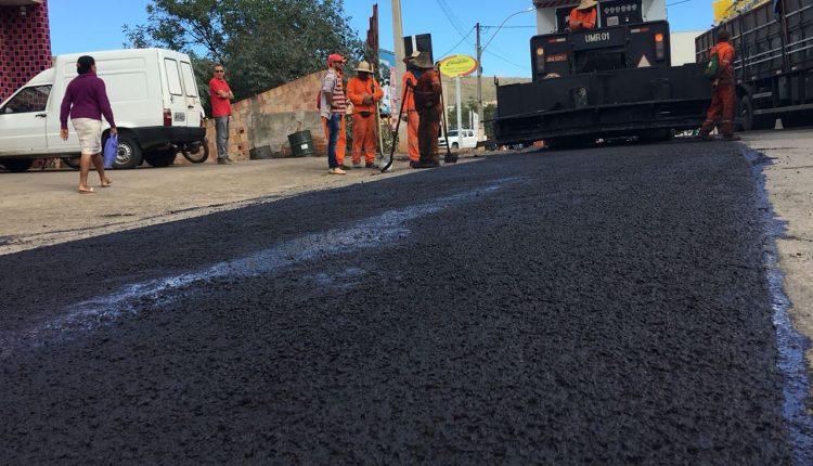 Iniciadas obras de recapeamento de trecho da BR-030