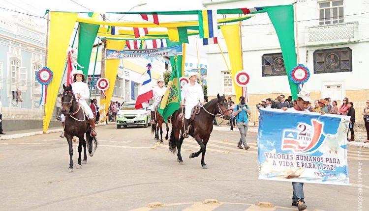Caetité é município destaque na comemoração da Independência da Bahia