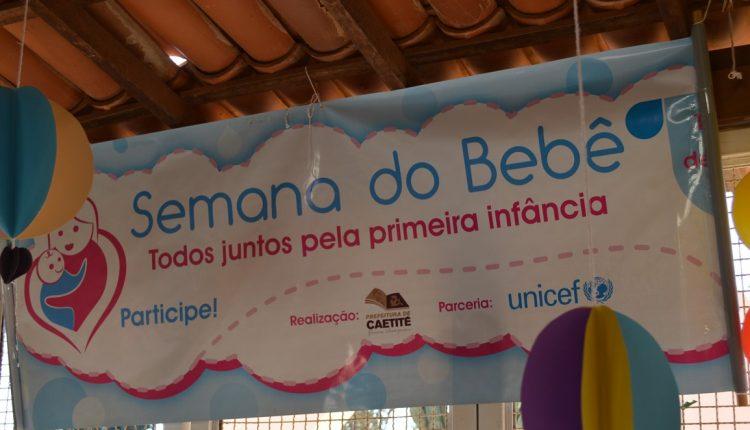 Começa em Caetité a 4ª Semana do Bebê pelos direitos da primeira infância