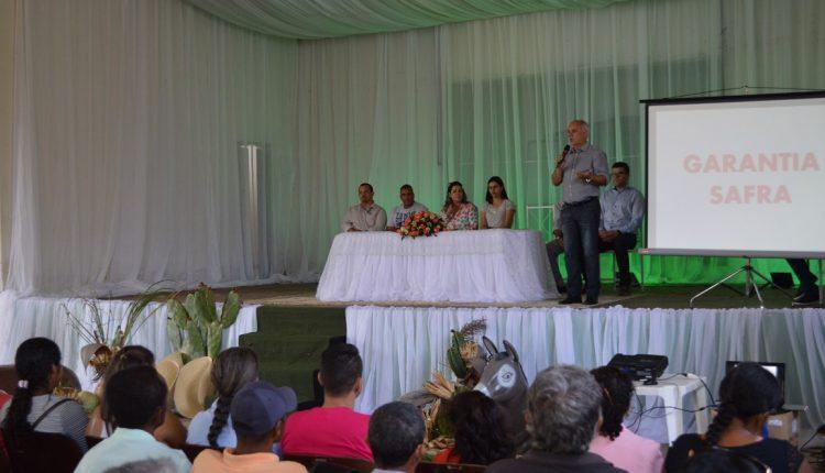 Prefeitura de Caetité promoveu 2º Seminário da Agricultura Familiar sobre o Garantia Safra
