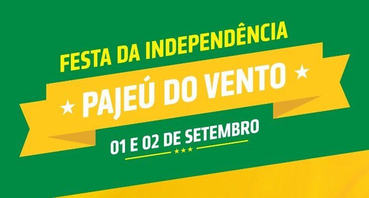 Vem aí a Festa da Independência no Distrito de Pajeú dos Ventos