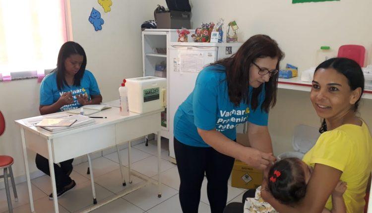 Caetité ultrapassa meta de vacinação contra Pólio e Sarampo