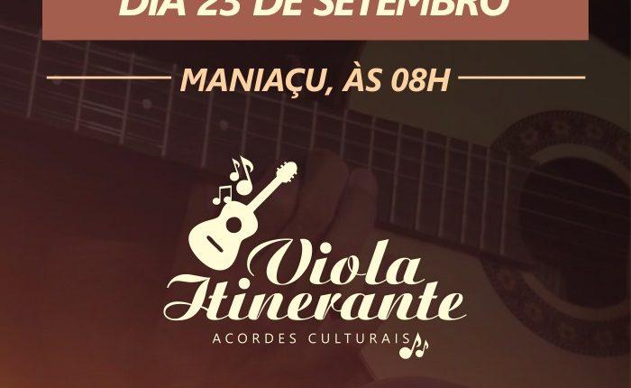 Viola Itinerante – próxima parada: Maniaçu