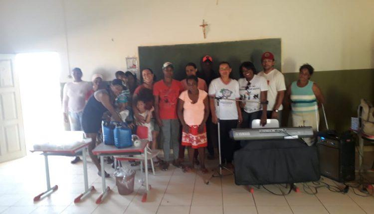 CRAS Rural realizou Projeto Unindo Forças na Comunidade de Mercês