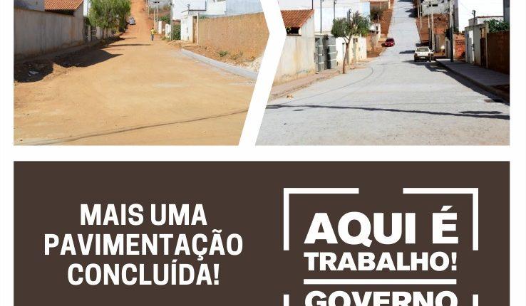 Prefeitura de Caetité realiza novo ciclo de pavimentação de ruas na cidade