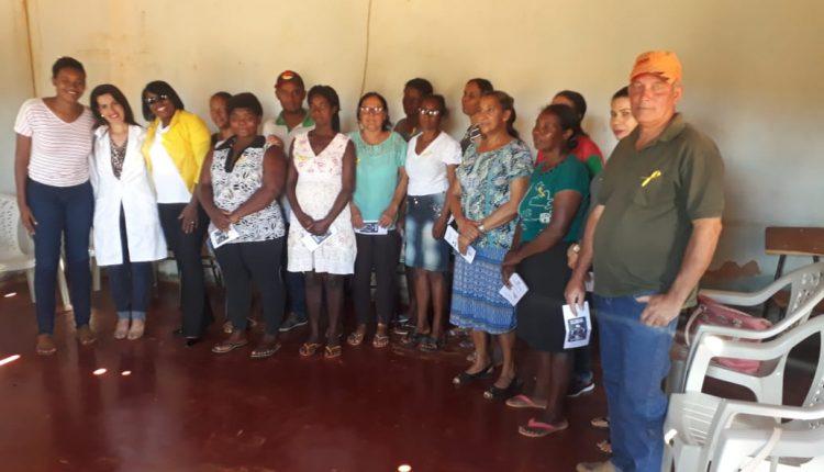 Comunidade recebe atividade da campanha 'Setembro Amarelo'