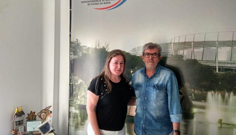 Cumprindo agenda em Salvador, vice-prefeita Jaquele Fraga, visitou SUDESB e a Fundação Cultural da Bahia