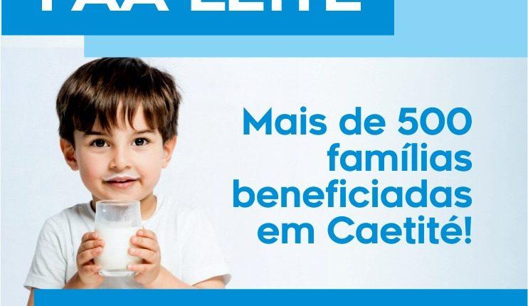 Programa PAA Leite beneficia mais de 500 famílias em Caetité