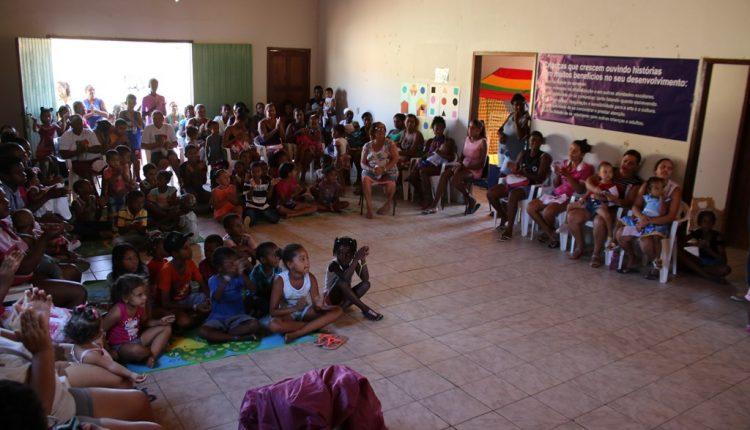Projeto Primeira Infância realiza Oficina de Leitura e Dia das Crianças em Pajeú do Vento