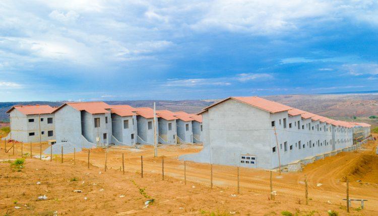 Minha Casa Minha Vida em Caetité está com 60% das obras concluídas