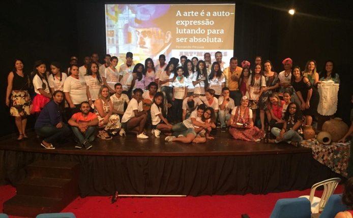 Grupo Escolar Senador Ovídio Teixeira realizou a 2ª edição do Projeto Art'manhas