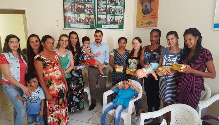 CRAS Rural realiza encontro com grupo de gestantes