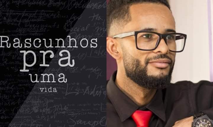 Caetiteense lança livro de autoajuda 'Rascunhos para uma vida' em São Paulo