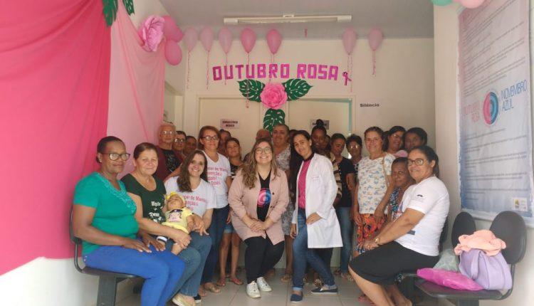 Atividades da Campanha Outubro Rosa foram realizadas em Caetité