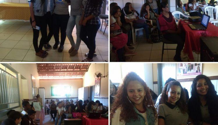 Palestra sobre a Campanha Setembro Amarelo é realizada em escola de Brejinho das Ametistas