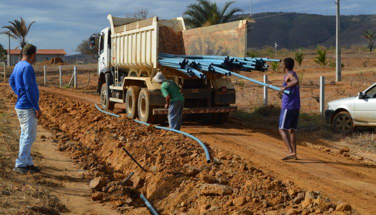 Prefeitura de Caetité conclui sistema de abastecimento de água na Comunidade do Paraguai