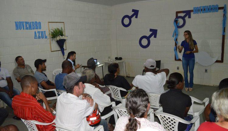 Secretaria de Saúde realiza palestra da Campanha Novembro Azul no CAPS