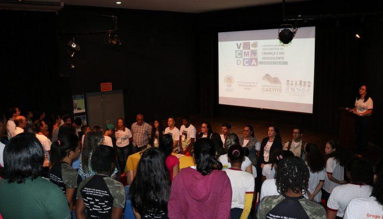 Caetité: Município realizou Conferência Municipal dos Direitos da Criança e do Adolescente