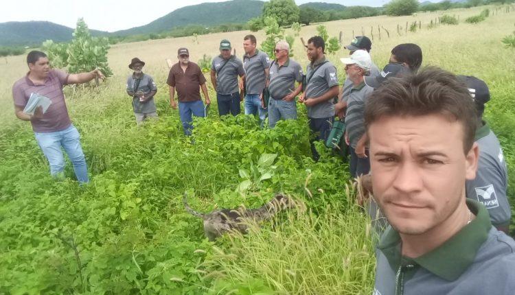 Mais uma turma conclui o curso de recuperação de pastagem; produtores de Pajeú do Vento foram os beneficiados