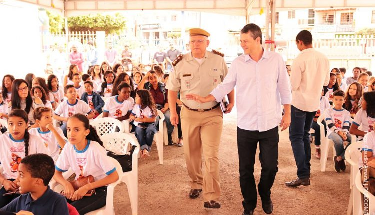 94ª CIPM e Prefeitura de Caetité realizam cerimônia de formatura do Proerd
