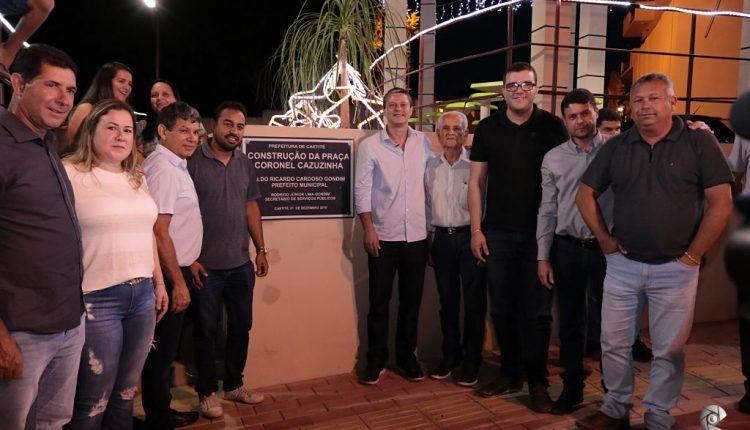 Governo Participativo entrega Praça Coronel Cazuzinha