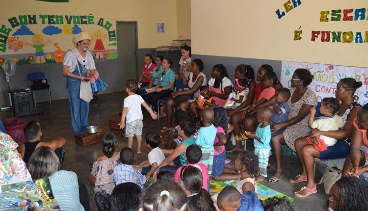 Programa Primeira Infância no SUAS realizou dia da criança na Comunidade Tanquinho de Aroeiras