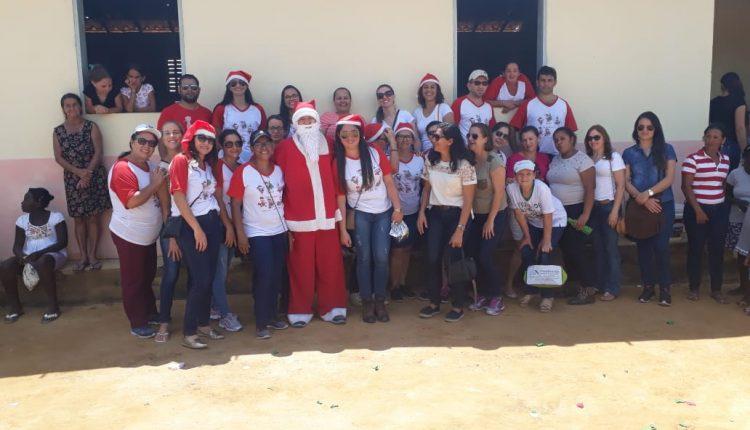 Escolas do distrito de Maniaçu realizam 10ª edição da campanha Natal Solidário