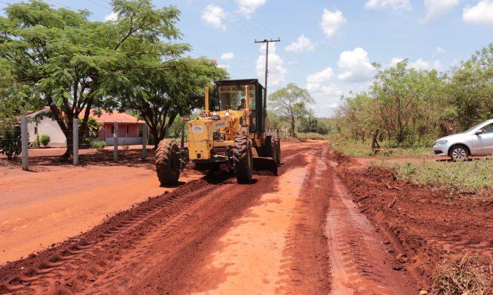 Prefeitura de Caetité realiza melhorias nas estradas vicinais de Santa Luzia e Campinas