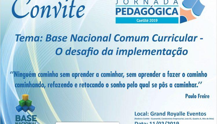 Jornada Pedagógica começa na próxima segunda, dia 11 de fevereiro