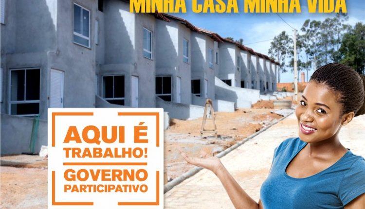 Mais de 80% das obras do Minha Casa Minha Vida estão concluídas em Caetité