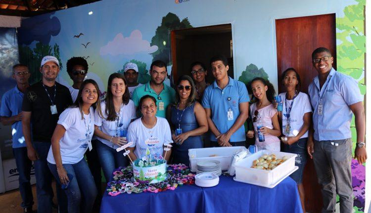 Projeto Viveiro Educador, da Unidade Regional da Embasa de Caetité, completou um ano