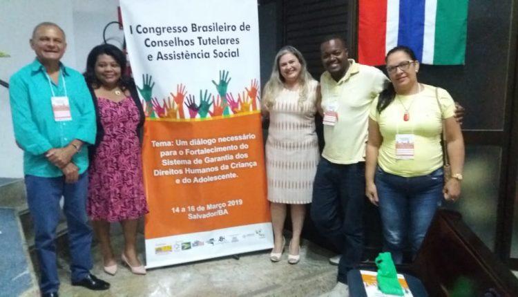 Conselheiros tutelares de Caetité participaram de congresso nacional