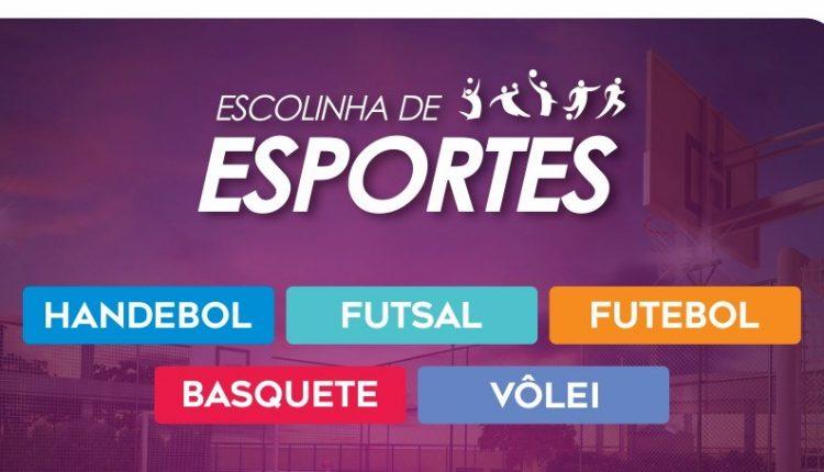 Agite sua vida: estão abertas as inscrições das Escolinhas de Esportes em Caetité