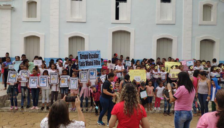 Ação do PSE mobiliza alunos no combate ao Aedes Aegypti em Santa Luzia
