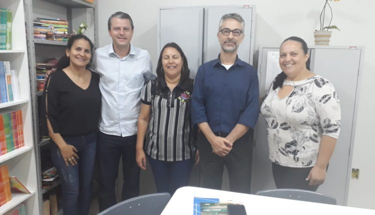 Prefeito Aldo Gondim participa de reunião com representantes da empresa AES Tietê