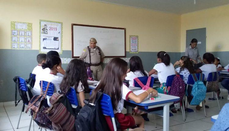 Aulas do PROERD iniciam em escolas da rede municipal