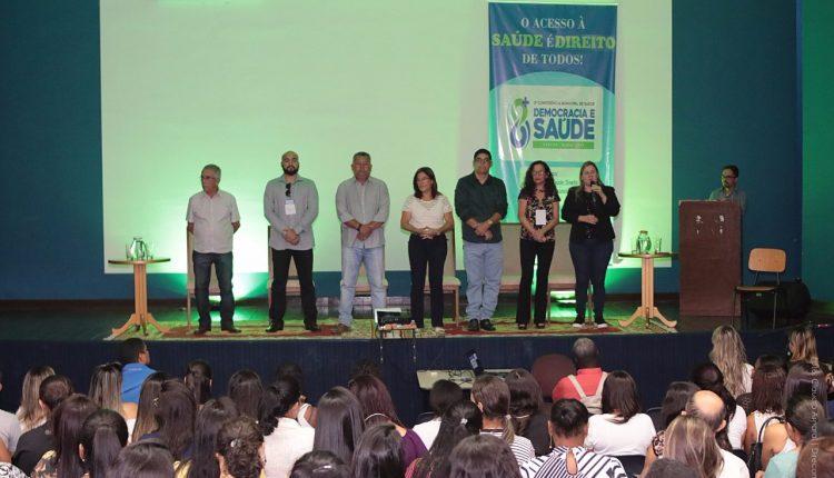 Caetité realizou 5ª Conferência Municipal de Saúde com ampla participação popular