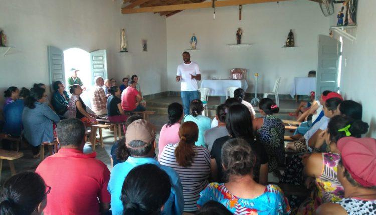 Ciclo de palestras: CRAS Rural promove reuniões nas comunidades de Barrinha, Tanquinho de Aroeiras e Sapé