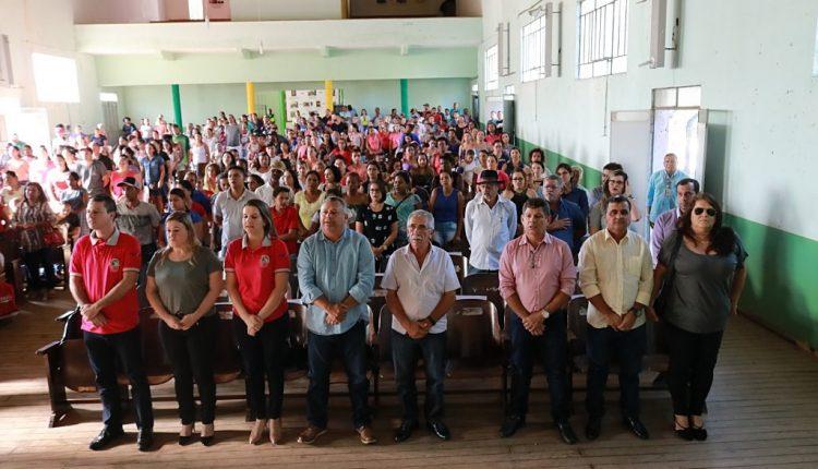 Prefeitura de Caetité realiza reunião com 390 famílias pré-selecionadas para o Programa Minha Casa Minha Vida
