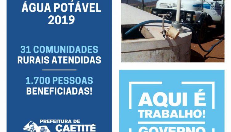 Prefeitura de Caetité realiza credenciamento para Operação Água Potável em 31 comunidades