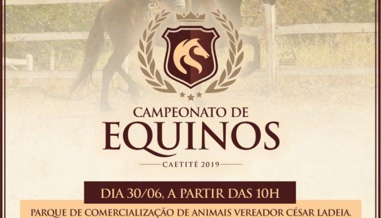Vem aí o 10º Campeonato de Equinos em Caetité; evento abre os festejos do 2 de Julho na cidade