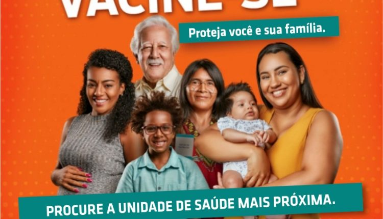 Proteja-se já: procure uma unidade de saúde e vacine-se contra a gripe